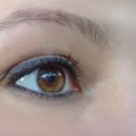 Olhos iluminados vêem o genuíno