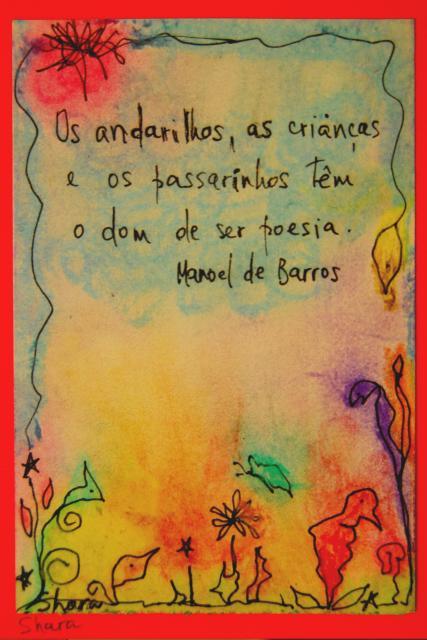 Lembranças de Manoel de Barros