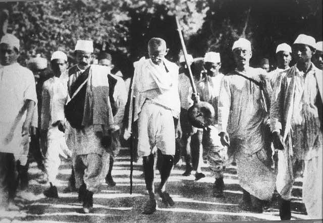 O que Gandhi fez de diferente?